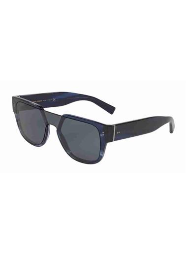 Dolce&Gabbana Dolce & Gabbana 4356 318880 22 Ekartman Unisex Güneş Gözlüğü Lacivert